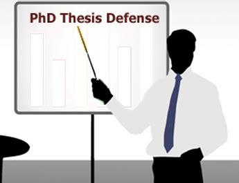 Feu thesis defense announcement
